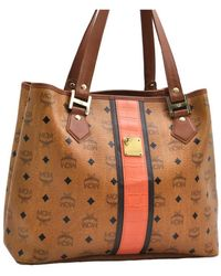 MCM Leather Handbag - Brown