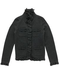 Sonia Rykiel Grey Wool Jacket - Gray