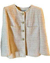 Chanel Vest en Coton Rose