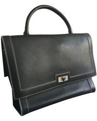 Givenchy Shark Black Leather Handbag