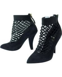 334267239a2 Lyst - Women s Louis Vuitton Ankle boots On Sale