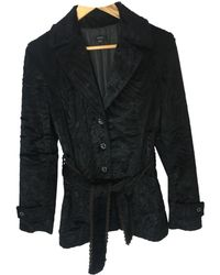 JOSEPH - Black Faux Fur - Lyst