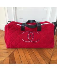 Chanel Red Cotton