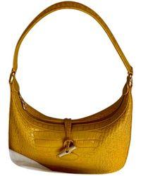 Longchamp Leder Handtaschen - Gelb
