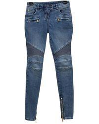 e6f63d9777 Jeans in LOWER()Cotone - elastan LOWER()Blu