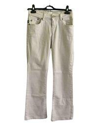Victoria Beckham Trousers - White