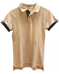 Burberry Polo Shirt - White
