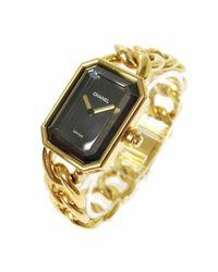 Chanel Première Gelbgold Uhren - Mettallic