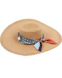Dior Beige Plastic Hat - Natural