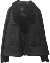 Proenza Schouler Black Wool Jacket