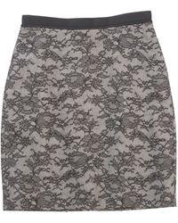 Jason Wu Black Wool Skirt