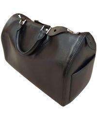 Louis Vuitton Speedy Leder Handtaschen - Schwarz