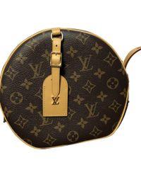 Louis Vuitton - Pre-owned Boîte Chapeau Souple Other Cloth Handbags - Lyst