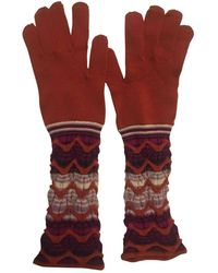 Missoni Long Gloves - Multicolour