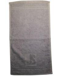 Jil Sander Gray Cotton Swimwear
