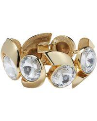 Lanvin - Vintage Gold Metal Bracelets - Lyst