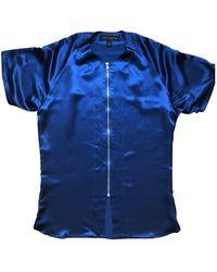 Louis Vuitton Seide Hemd - Blau