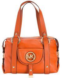 MICHAEL Michael Kors - Leather Satchel - Lyst