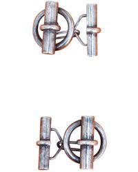 Hermès Gemelli in argento argentato - Multicolore