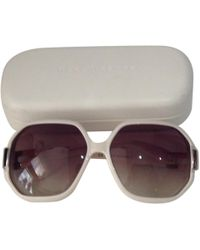 Marc By Marc Jacobs - Beige Plastic Sunglasses - Lyst