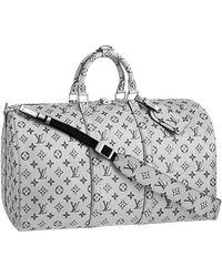 Louis Vuitton Leinen Taschen - Mettallic