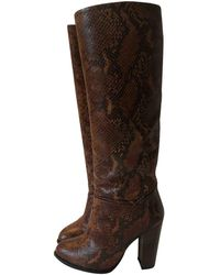 By Malene Birger Leather Boots - Brown