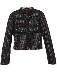 Chanel Tweed Anorak - Schwarz