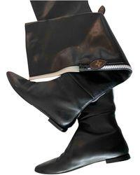 Louis Vuitton Stivali da cavallerizza in Pelle - Nero