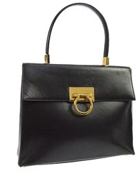 Ferragamo Brown Leather Handbag