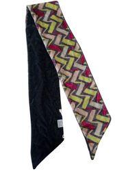 Diane von Furstenberg - Multicolour Velvet Scarves - Lyst