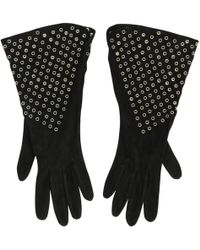 Alaïa - Leather Gloves - Lyst