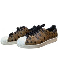 adidas Superstar Leder Sneakers - Braun