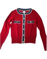 Chanel Jersey en cachemira - Rojo