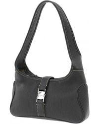 Ferragamo Leather Handbag - Black