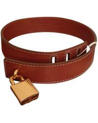 Tom Ford Leather Bracelet - Brown