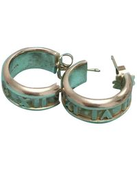 Tiffany & Co. Tiffany 1837 Silver Earring - Multicolor