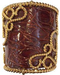 Loewe - Pre-owned Gold Metal Bracelet - Lyst