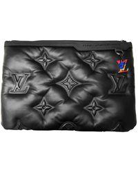 Louis Vuitton Borsa in pelle nero
