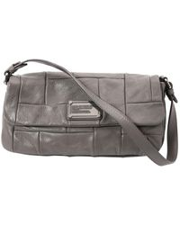 Marc By Marc Jacobs - Grey Leather Handbag - Lyst