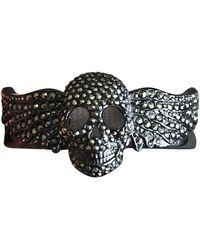 Zadig & Voltaire Grey Metal Bracelet - Multicolour