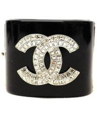 Chanel Black Bracelet
