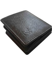 Louis Vuitton Brown Leather Small Bag Wallets & Cases