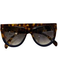 Celine Shadow goggle Glasses - Brown