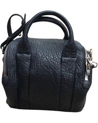 Alexander Wang Rockie Leather Handbag - Blue