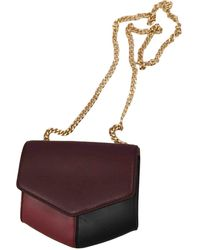 Sandro Leather Handbag - Multicolour