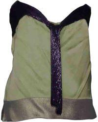 Chloé Silk Camisole - Multicolour