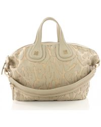 1b3c133183 Lyst - Givenchy Beige Grained Leather