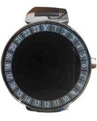 Louis Vuitton Tambour Horizon Uhren - Schwarz