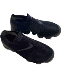 Nike Air Vapormax Cloth Sneakers - Black