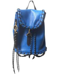 Acne Studios - Pre-owned Leather Backpack - Lyst